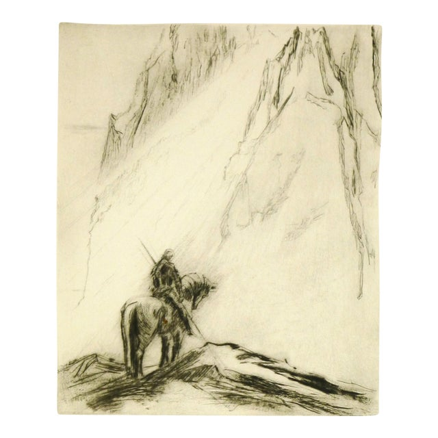 Original Etching Parsifal For Sale