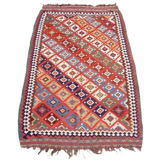 Qashqai Tribal Kilim For Sale
