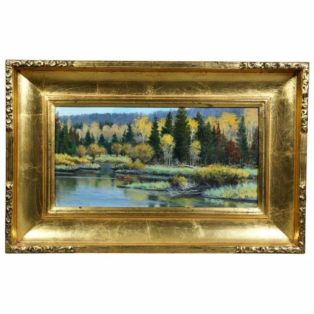 Oil on Panel Landscape by Jerry Antolik For Sale - Image 9 of 9