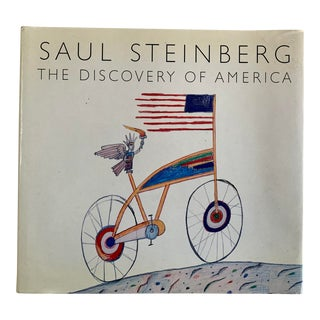 1990s Saul Steinberg: The Discovery of America Coffee Table Book For Sale