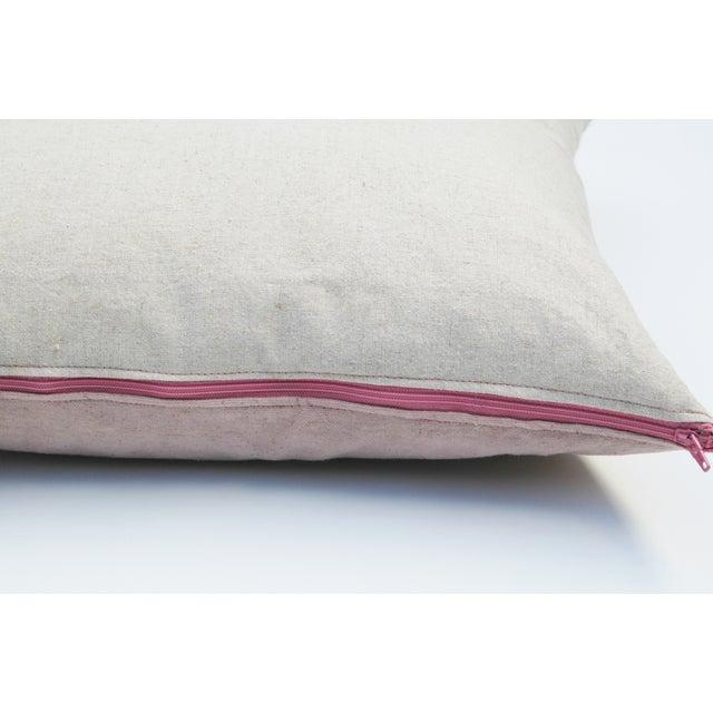 Rose Quartz Tribal Pattern Pillow Cover - Image 4 of 5