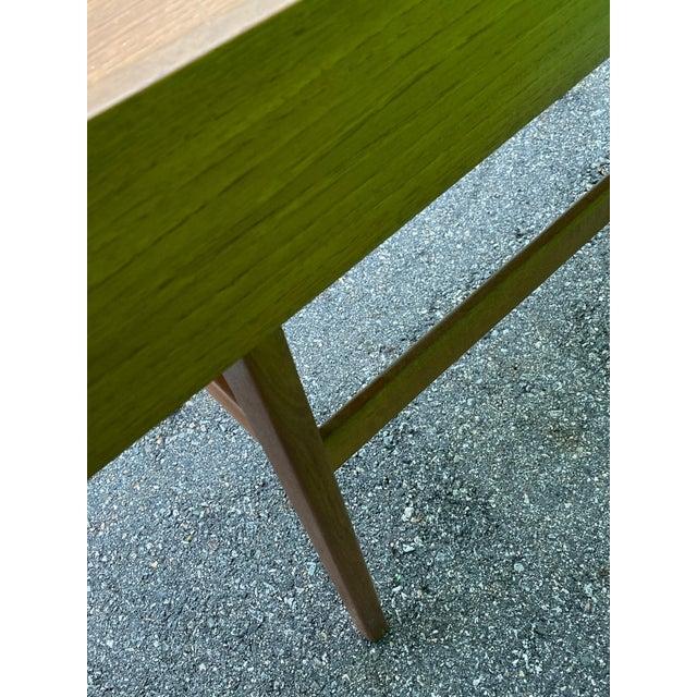 Wood Danish Mid-Century Modern Teak Vanity Dressing Table For Sale - Image 7 of 8
