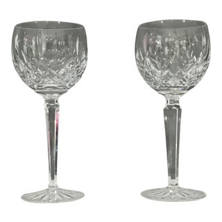 Waterford Crystal Wine Glasses - a Pair For Sale