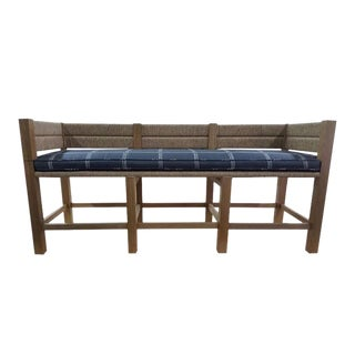 "Custom to Order ""Handcrafted Furniture"" Collection Bench"