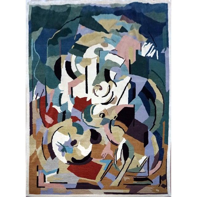 Boccara Artistic Rug – Albert Gleizes – Design N.39 For Sale - Image 9 of 9
