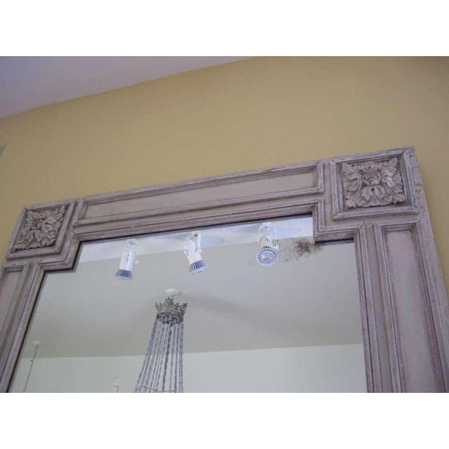 19th C. Italian Painted Church Frame Wall Mirror For Sale - Image 4 of 9