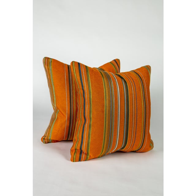 """18"""" Maharam Point by Paul Smith Pillows, Pair For Sale In Raleigh - Image 6 of 6"""