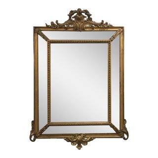 Antique Régence Style Pareclose Mirror