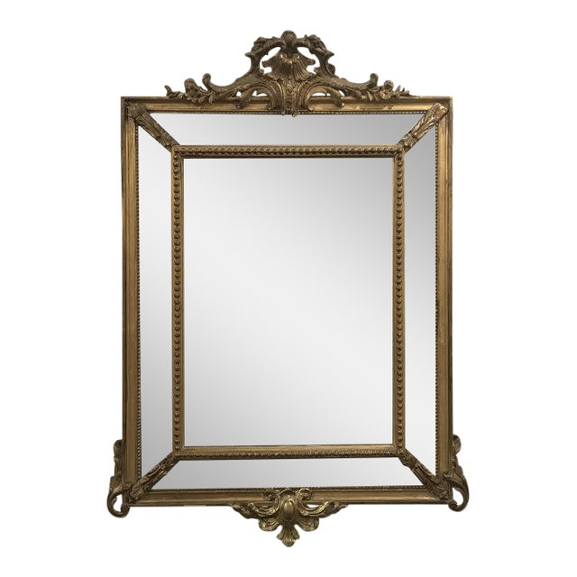 Antique Régence Style Pareclose Mirror - Image 1 of 8