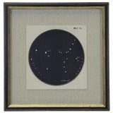 Image of Constellation Print 6 in Shadowbox For Sale