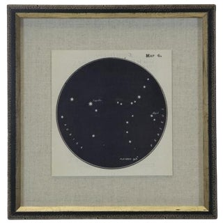 Constellation Print 6 in Shadowbox For Sale