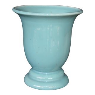 West Coast Pottery Blue Vase For Sale
