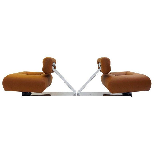 """Pair of """"Aran"""" Lounge Chairs by Oscar Niemeyer, Circa 1975 For Sale - Image 9 of 9"""