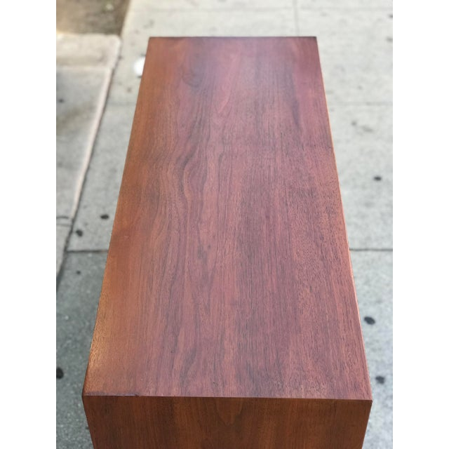 Walnut Mid Century Modern Chest of Drawers For Sale - Image 7 of 13