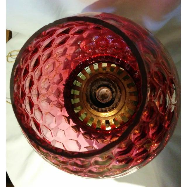 Converted Brass Kerosene Lamp - Image 9 of 9