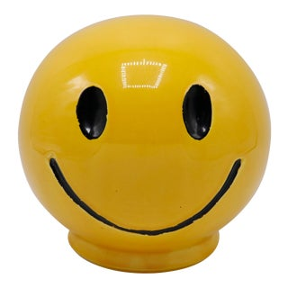 """1970s """"Have a Nice Day"""" Ceramic Money Bank For Sale"""