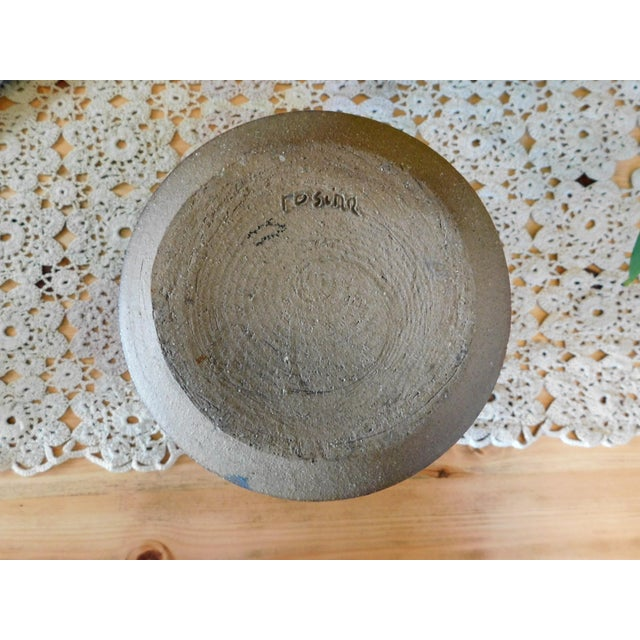 Studio Ceramic Flour Jar For Sale - Image 4 of 6
