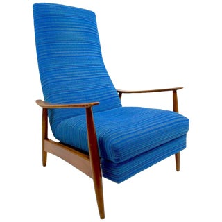 Baughman for James Inc. Recliner Lounge Chair For Sale