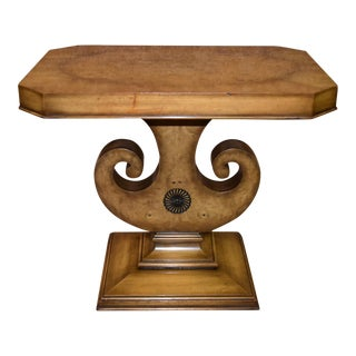Vintage Neo-Classic Weiman Style Side Table For Sale