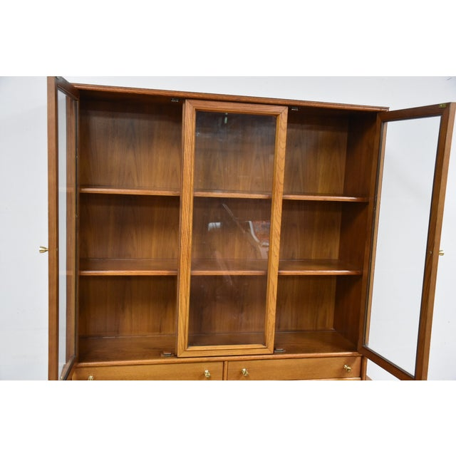 Keller Walnut Hutch Credenza - Image 7 of 9