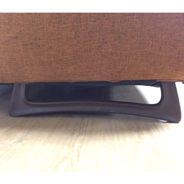 Mid Century Pearsall Style Sofa - Image 7 of 9