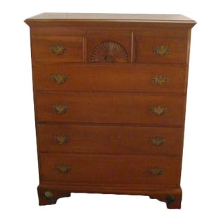 Stickley Solid Cherry Chest of Drawers For Sale