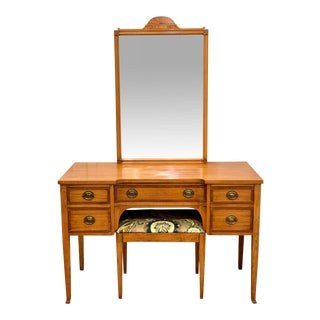1960s 3 Piece Vanity Set by Johnson Furniture Company For Sale