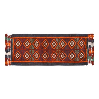 Vintage Uzbek Runner Rug - 3'3″ x 8'1″ For Sale