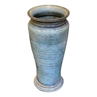 Blue Studio Pottery Ceramic Vase For Sale