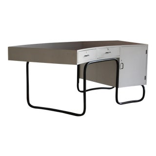 1930s Serge Chermayeff Curved Writing Desk For Sale