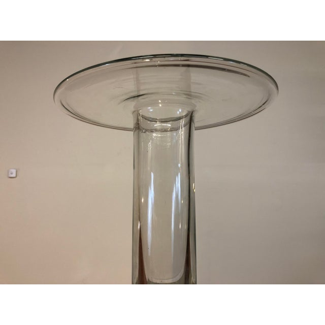 Mid 20th Century Blenko Hand Blown Glass Vase For Sale In Seattle - Image 6 of 8