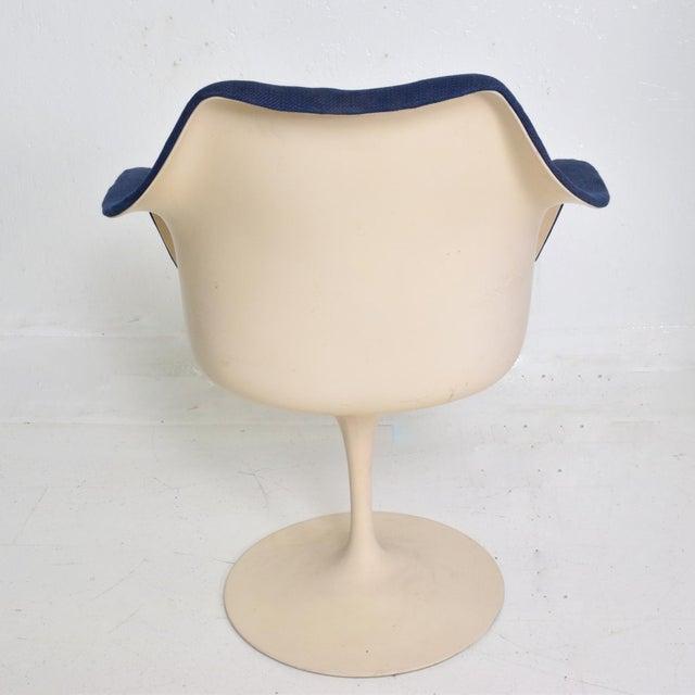 Knoll Tulip Chair 1956 by Eero Saarinen Mid Century Modern For Sale - Image 9 of 10