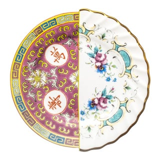 Seletti, Eudossia Hybrid Dessert Plate, Set of Six, Ctrlzak, 2011/2016 For Sale