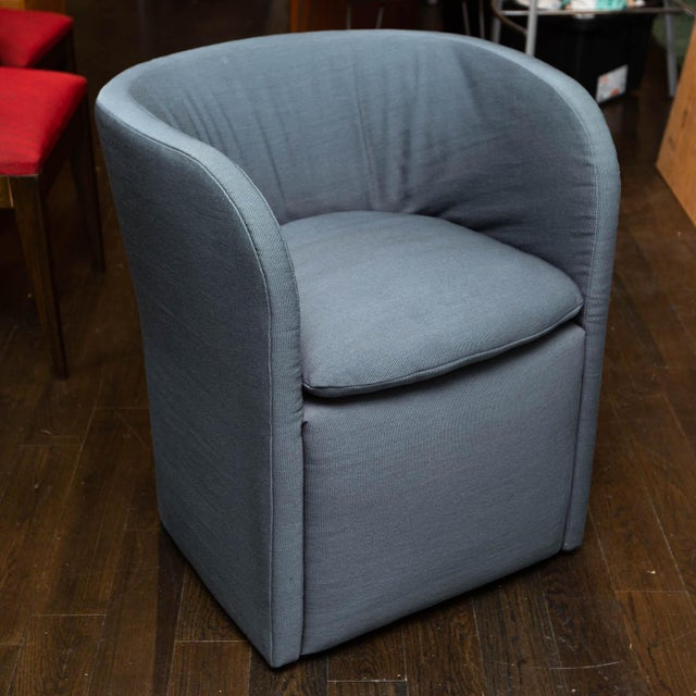 Late 20th Century Set of 4 John Saladino for Dunbar Chairs For Sale - Image 5 of 10
