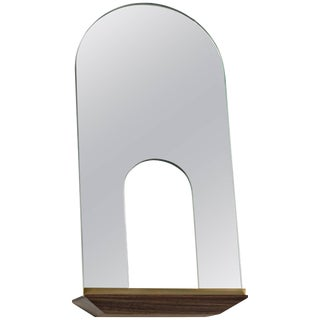 Propped Daily Use Arched With Void Mirror by Phaedo For Sale