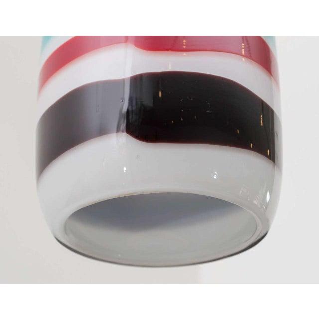Venini Massimo Vignelli Glass Pendant For Sale - Image 4 of 8