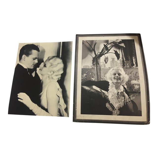Vintage Photos of Jean Harlow & James Cagney - Image 1 of 7