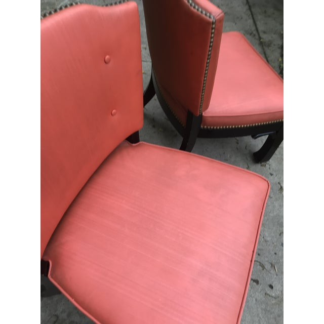 Ming Style Low Slung Game Chairs- Set of 4 For Sale - Image 9 of 10