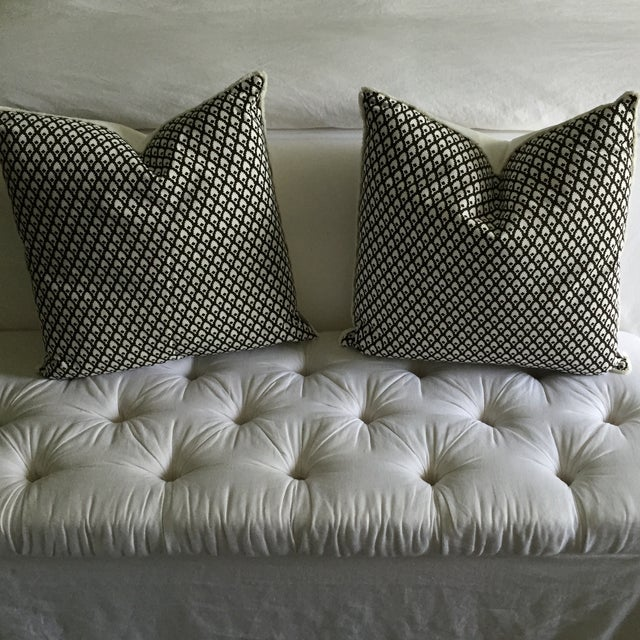 Chocolate Lacefield Designs Pillows- A Pair - Image 2 of 6