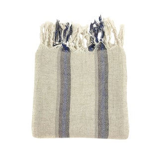 Boho Chic Maxwell Handwoven Turkish Towel For Sale