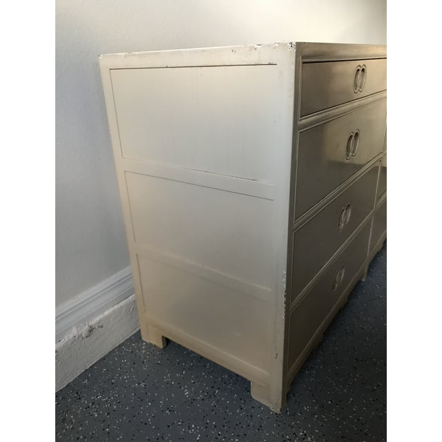 Traditional 1960s Traditional Michael Taylor for Baker Furniture Wood Chest of Drawers For Sale - Image 3 of 8