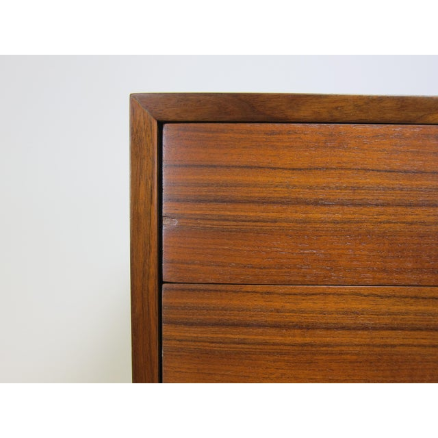 1950s George Nelson for Herman Miller Walnut Dresser For Sale - Image 9 of 13