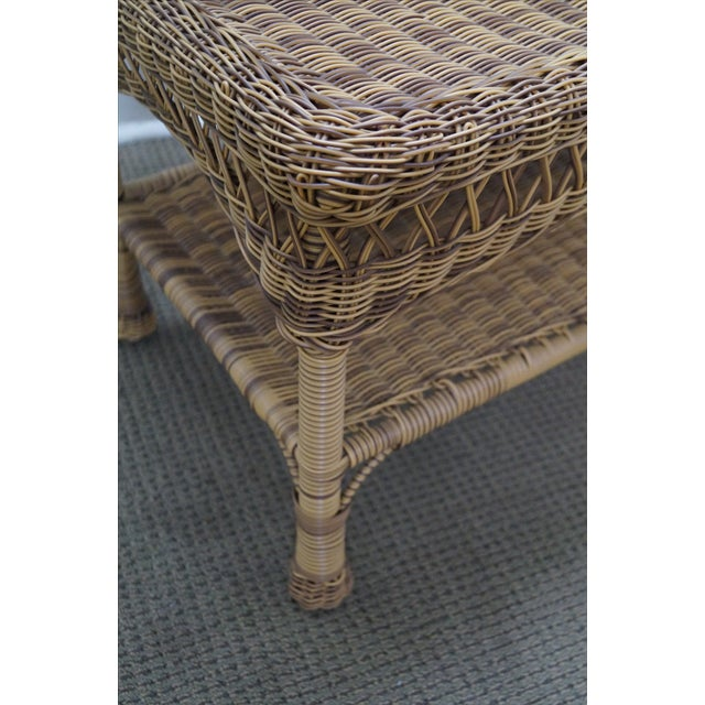 Quality Outdoor Wicker Patio Set - 4 Pieces - Image 7 of 10