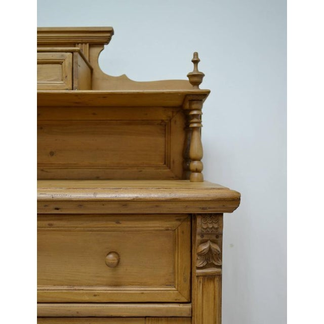 Late 19th Century Late 19th Century Pine Chiffonier For Sale - Image 5 of 9
