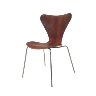 1960s Danish Modern Arne Jacobsen No. 7 Side Chair