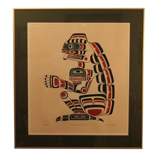 Limited Edition Art Print by Indian Artist Henry Hunt For Sale