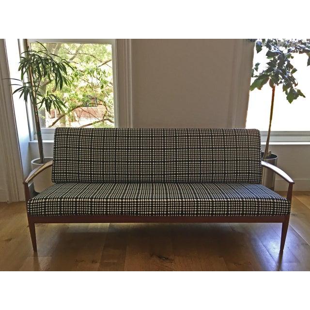 White France & Daverkosen Reupholstered Sofa For Sale - Image 8 of 8