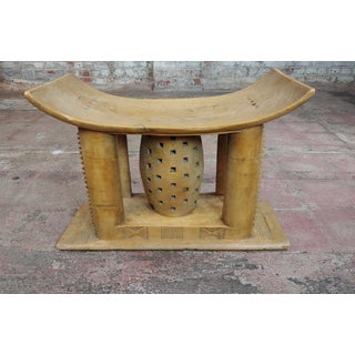 19th Century African Ashanti Hand Carved Wooden Stool Preview