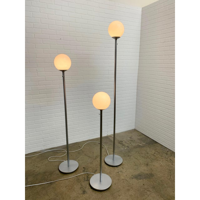 Vintage Globe Floor Lamps by ClassiCon - Set of 3 For Sale - Image 9 of 12