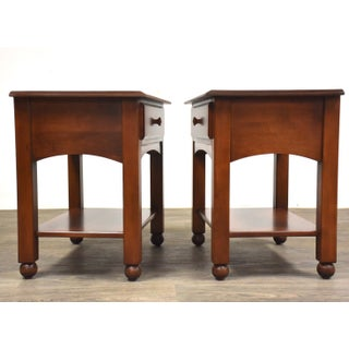 Ethan Allen American Dimensions Nightstands- a Pair Mid-Century Modern Preview